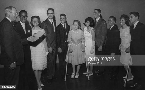 Boettcher High School Class of 1965 Denver Board of Education awarded diplomas Thursday night to graduating seniors at Charles Boettcher High School...