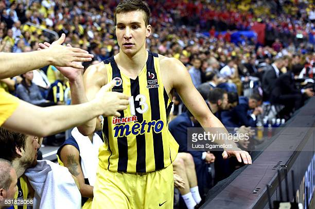 Bogdan Bogdanovic #13 of Fenerbahce Istanbul during the Turkish Airlines Euroleague Basketball Final Four Berlin 2016 Championship game between...