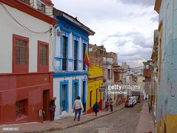 Bogota, Colombia - Calle de las Margaritas, La Candelaria