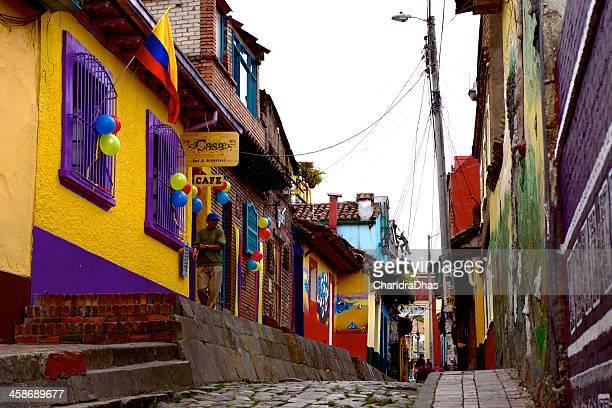 Bogota, Colombia - historic La Candelaria; Spanish colonial architecture