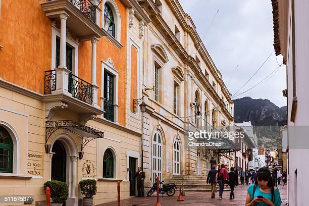 Bogota, Colombia - Hotel and Teatro Colón, the Opera