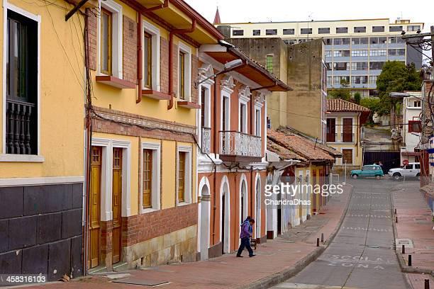 Bogota, Colombia - La Candelaria, the historical centre
