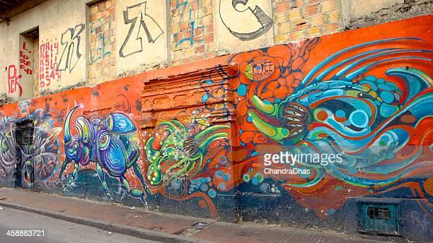 Bogota, Colombia - Street Art and Graffiti, La Candelaria