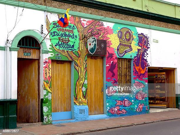 Bogota, Colombia - Street Art in La Candelaria