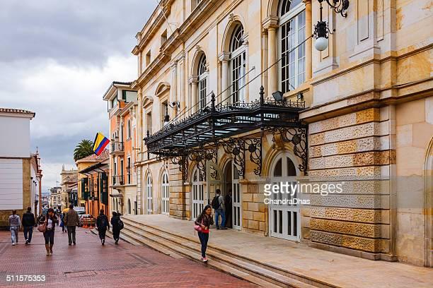 Bogota, Colombia - Teatro Colón, the Opera; classic architecture