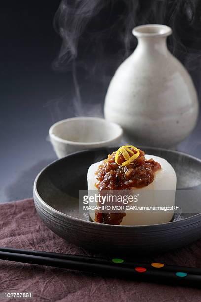 Boiled daikon radish
