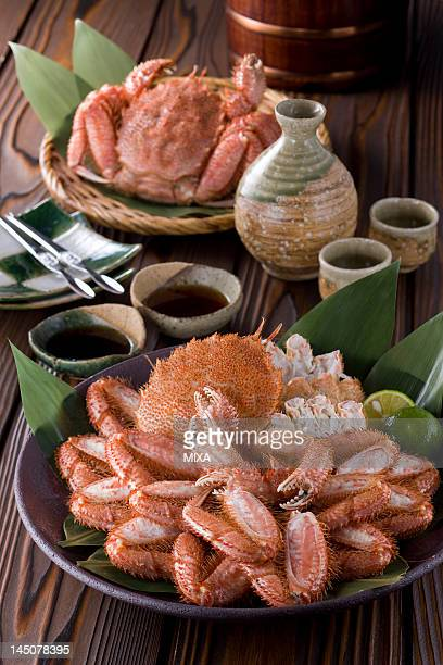 Boiled Horsehair Crab
