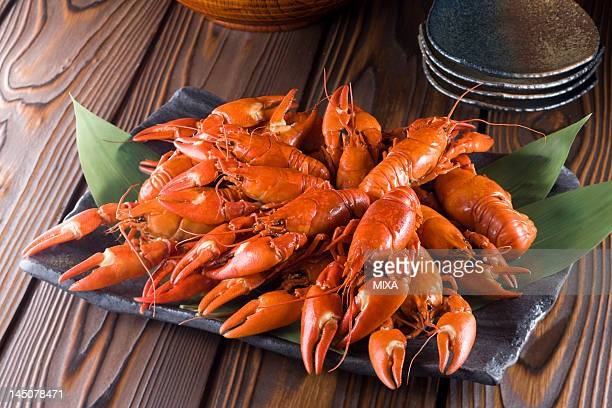 Boiled Signal Crayfish