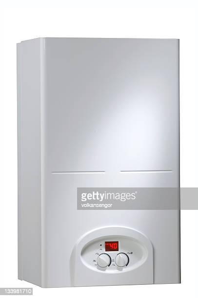 boiler on white background