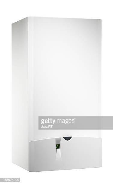 Chaudière (isolé avec un Tracé de détourage sur fond blanc