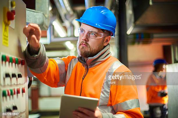 Boiler room maintenance engineer