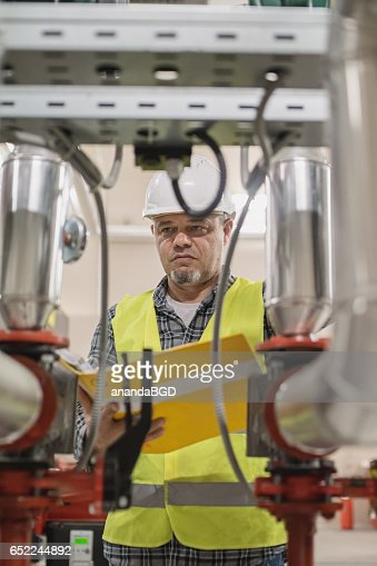 boiler room : Stock Photo