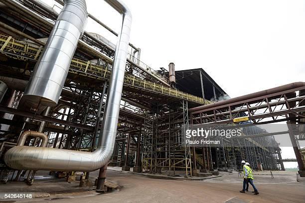 PAST boilers at Unidade industrial Cruz Alta da Guarani SA ethanol sugar and energy about 40 km from Sao Jose do Rio Preto Brazil on Tuesday October...