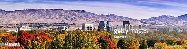 Boise City Skyline Fall