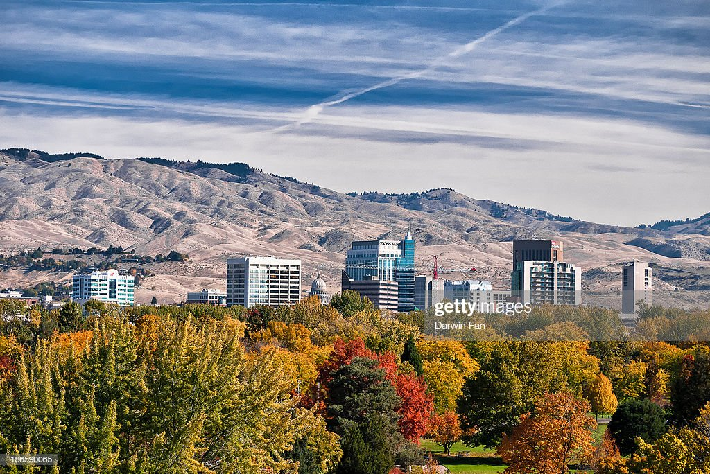 Boise City Skyline