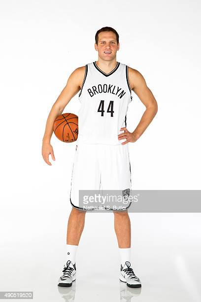 Bojan Bogdanovic of the Brooklyn Nets poses for a photo during Media Day at the Brooklyn Nets Practice Facility NOTE TO USER User expressly...