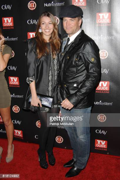 Bojana Jankovic and Michael Weatherly attend TV GUIDE MAGAZINE'S 2010 HOT LIST at Drai's on November 8th 2010 in West Hollywood California