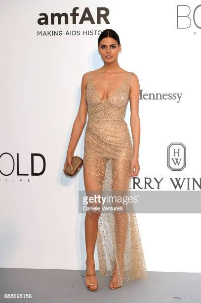 Bojana Krsmanovic arrives at the amfAR Gala Cannes 2017 at Hotel du CapEdenRoc on May 25 2017 in Cap d'Antibes France