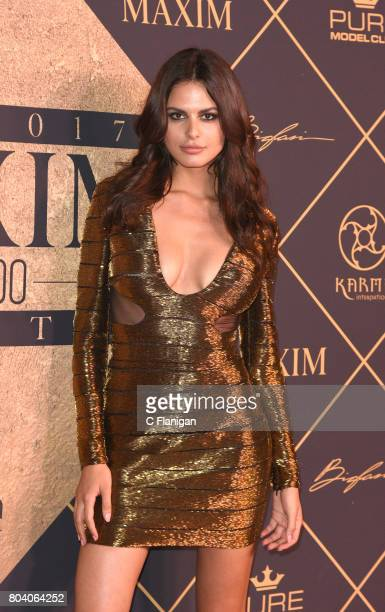 Bojana Krsmanovic arrives at the The 2017 MAXIM Hot 100 Party at Hollywood Palladium on June 24 2017 in Los Angeles California