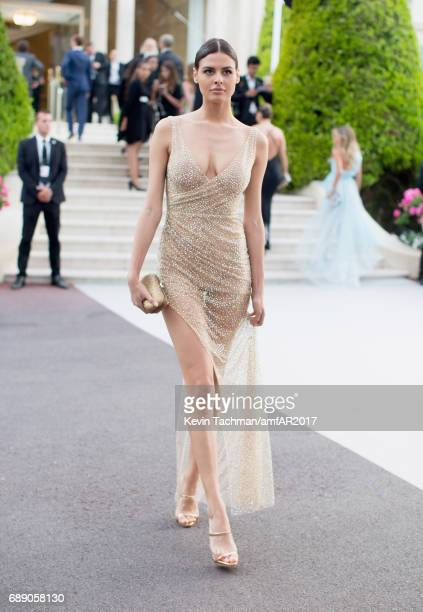 Bojana Krsmanovic attends the amfAR Gala Cannes 2017 at Hotel du CapEdenRoc on May 25 2017 in Cap d'Antibes France