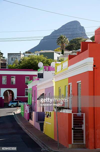 BoKaap the Malay Quarter community in Cape Town South Africa
