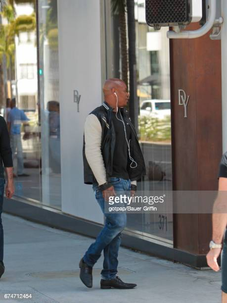 Bokeem Woodbine is seen on April 28 2017 in Los Angeles California