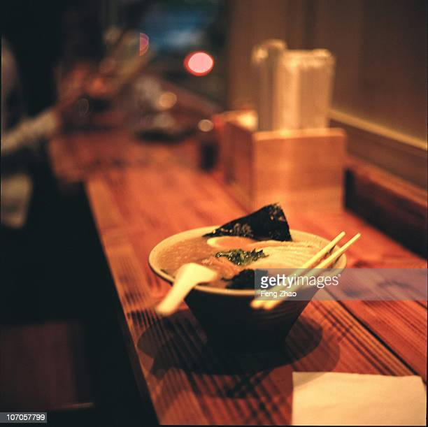Bokeh and Ramen Meal