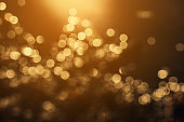 bokeh gold light backgrounds