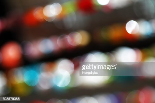 Bokeh light : Bildbanksbilder