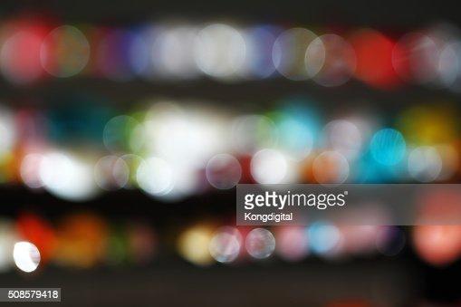 Bokeh light : Stockfoto