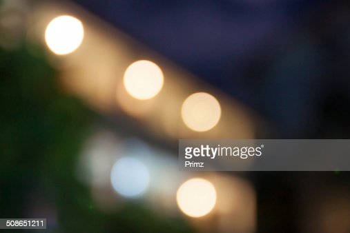 bokeh night light from buliding thailand : Stock Photo