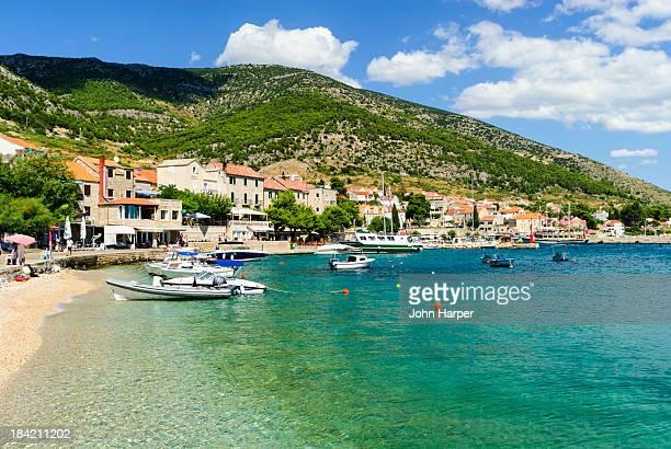 Bol Harbour, Brac Island, Croatia