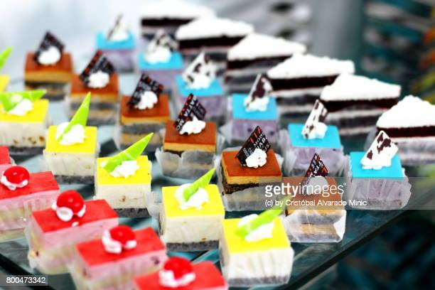 Bold Colours - Assorted Cakes