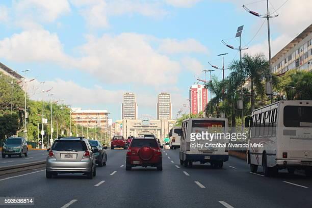 Bolivar Avenue, Caracas, Venezuela