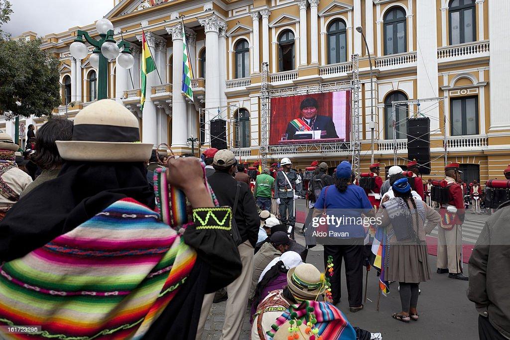 Bolivia, La Paz, Murillo square : Stock Photo
