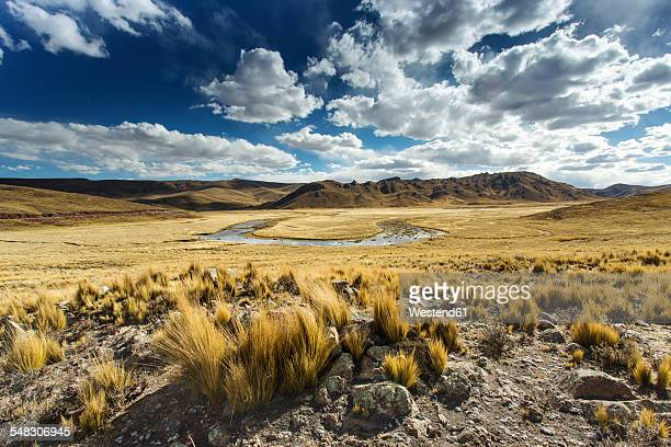 Bolivia, Landscape between Arequipa and Lake Titicaca