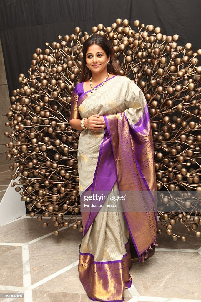 Bollywod actor <a gi-track='captionPersonalityLinkClicked' href=/galleries/search?phrase=Vidya+Balan&family=editorial&specificpeople=563348 ng-click='$event.stopPropagation()'>Vidya Balan</a> during 8th Geospa Asiaspa India Awards Ceremonyat JW Marriot on March 30, 2015 in New Delhi, India.
