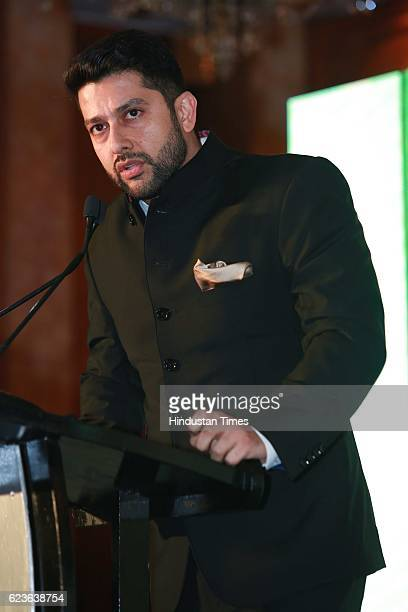Bollywood actor Aftab Shivdasani salutes Nation's Guardians during an event organized by Heera Group of Companies Dhanda Associates at Hotel Taj...