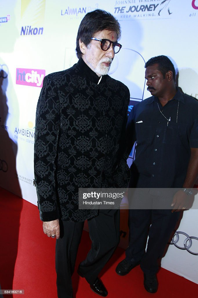 Bollywood actor Amitabh Bachchan at Hindustan Times Most Stylish Awards 2016 at hotel JW Marriot, Aerocity on May 24, 2016 in New Delhi, India.