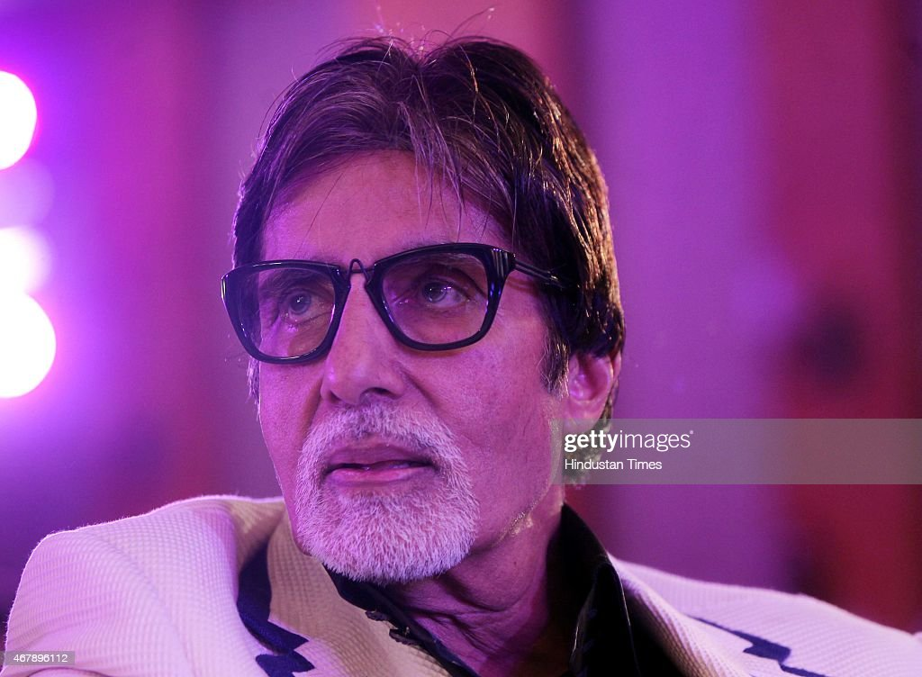 Bollywood actor <a gi-track='captionPersonalityLinkClicked' href=/galleries/search?phrase=Amitabh+Bachchan&family=editorial&specificpeople=220394 ng-click='$event.stopPropagation()'>Amitabh Bachchan</a> during the Hindustan Times Mumbai's Most Stylish Awards 2015 at JW Mariott Hotel, Juhu on March 26, 2015 in Mumbai, India.