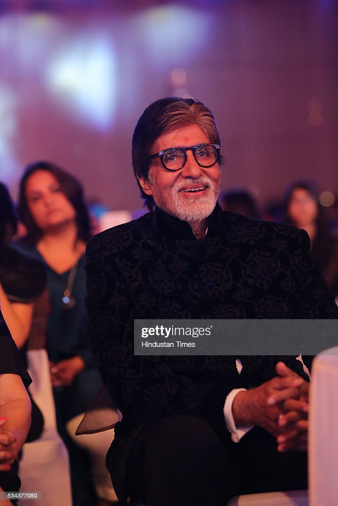 Bollywood actor Amitabh Bachchan during a sixth edition of Hindustan Times Most Stylish Awards 2016 at Hotel JW Marriot, Aerocity on May 24, 2016 in New Delhi, India.