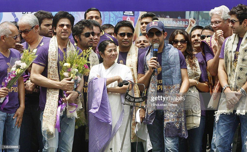 Kolkata Knight Riders Celebrate IPL Victory : News Photo