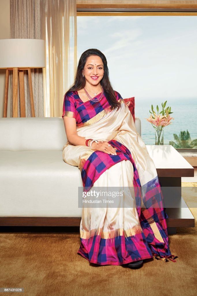 Bollywood actor and politician Hema Malini during an exclusive interview with HT Brunch-Hindustan Times, at the JW Marriott, on November 20, 2017 in Mumbai, India.