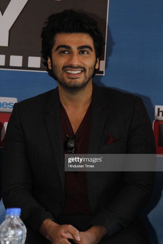 Bollywood actor <a gi-track='captionPersonalityLinkClicked' href=/galleries/search?phrase=Arjun+Kapoor&family=editorial&specificpeople=6147223 ng-click='$event.stopPropagation()'>Arjun Kapoor</a> during an exclusive interview for his upcoming movie Tevar at HT Media Office on January 05, 2015, New Delhi, India.