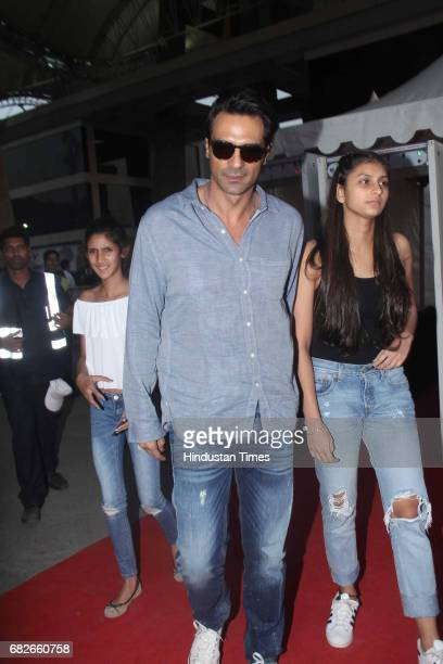 Bollywood actor Arjun Rampal at red carpet during Justin Bieber's concert at DY Patil Stadium Nerul on May 10 2017 in Mumbai India Justin Bieber a...