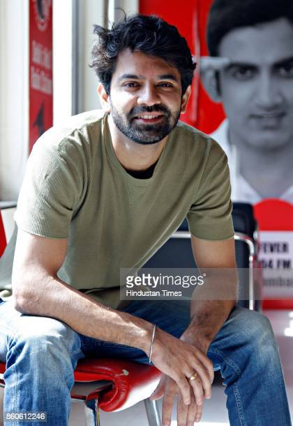 Bollywood actor Barun Sobti poses during an exclusive interview with HT CityHindustan Times for the promotion of movie 'Tu Hai Mera Sunday' at HT...