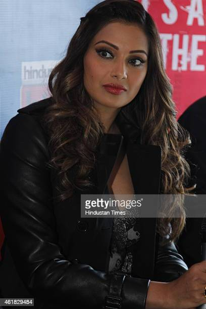 Bollywood actor Bipasha Basu during an exclusive interview with HT City Hindustan Times to promote her upcoming movie Alone at HT Media Office on...