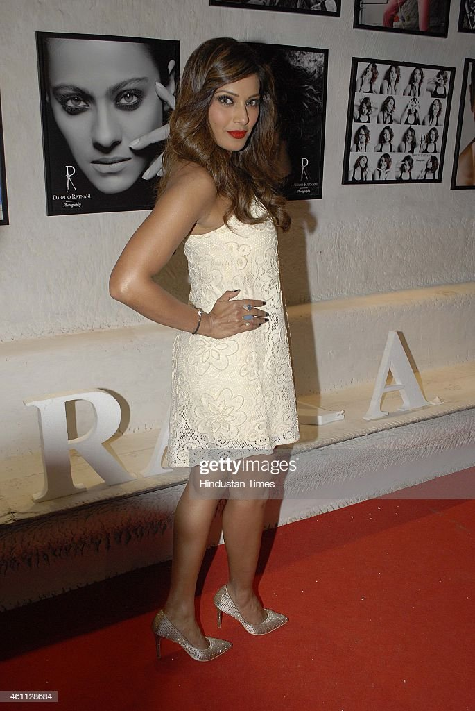 Bollywood actor <a gi-track='captionPersonalityLinkClicked' href=/galleries/search?phrase=Bipasha+Basu&family=editorial&specificpeople=695956 ng-click='$event.stopPropagation()'>Bipasha Basu</a> during the launch of Fashion photographer Dabboo Ratnani's 2015 calendar on January 5, 2015in Mumbai, India.