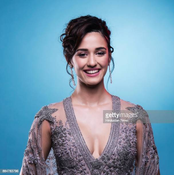 Bollywood actor Disha Patani poses at Hindustan Times Most Stylish Awards 2017 Taj Lands End Bandra on March 24 2017 in Mumbai India