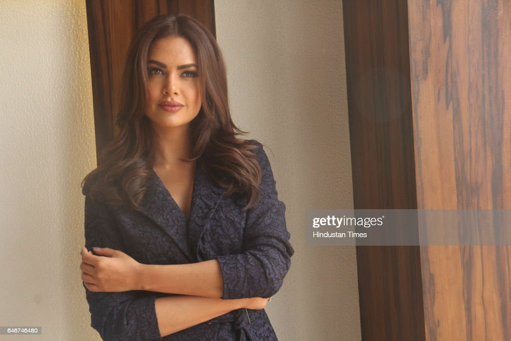 Profile Shoot Of Bollywood Actor Esha Gupta : News Photo